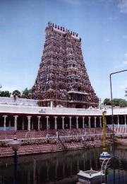 El templo de Sri Meenakshi