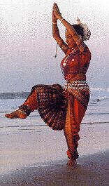 Bailarín de Odissi