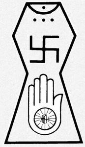 Símbolo del jainismo
