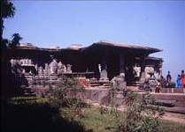 El templo de los mil pilares