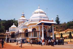 El templo de sri mangesh