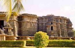El templo de Hoysaleswara
