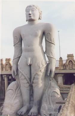 La estatua de Gomateshwara