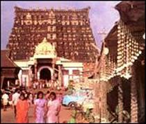 El templo Sri Padmanabhaswamy