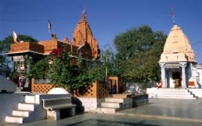 El templo Hara Siddhi