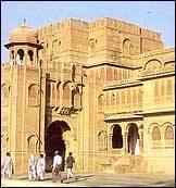 El palacio Lalgarh