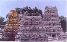 El templo de Kamakshi Amman