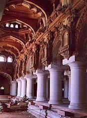 El palacio de Thirumalai Nayak