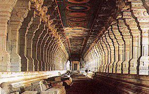 El templo de Ramanathaswamy