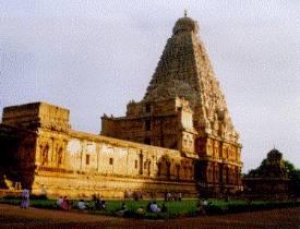 El templo de Bridhadishwara