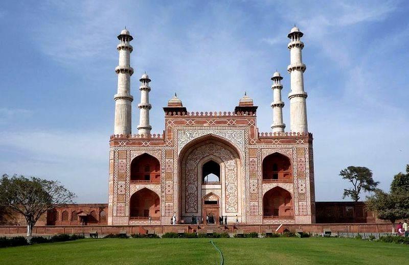 La tumba de Akbar