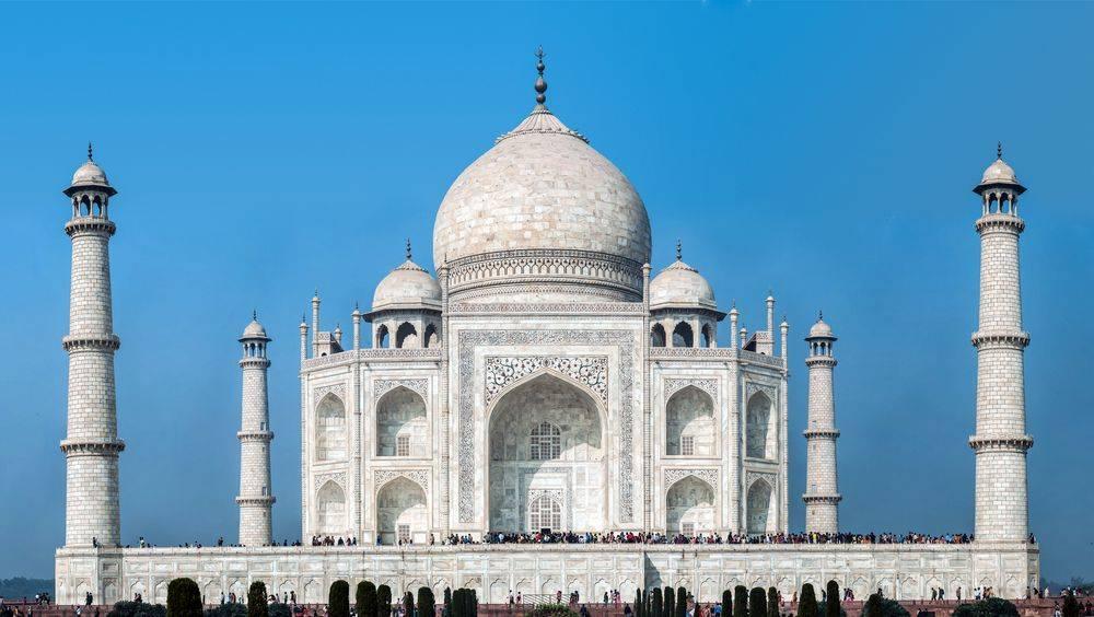 El Taj Mahal y su cúpula