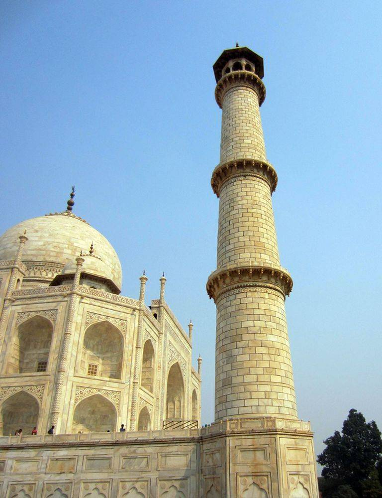 Uno de los minaretes