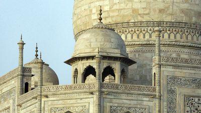 Una de las 4 cúpulas secundarias