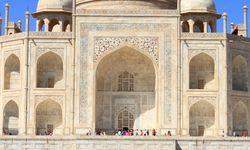 Fachada del Taj Mahal