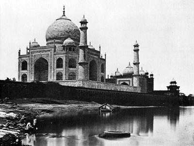 El Taj Mahal en 1865