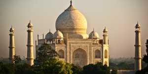 El mausoleo del Taj Mahal