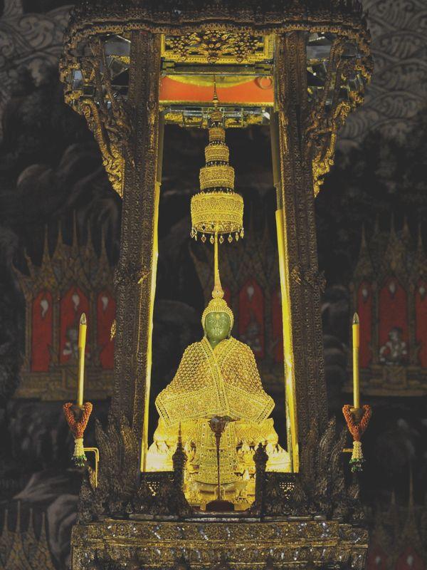 Buda de esmeralda