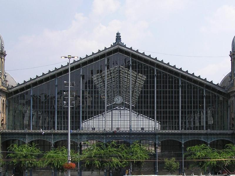 Estación de tren del oeste, Budapest