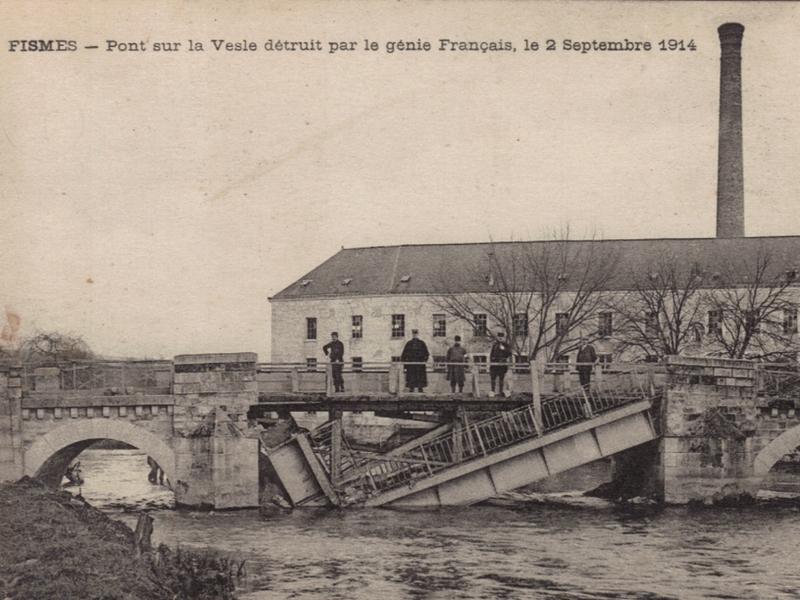 Puente sobre el Vesle, en Chassemy
