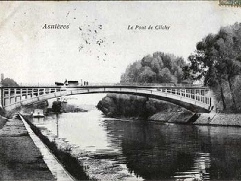 Puente Clichy, Hauts de Seine, Francia