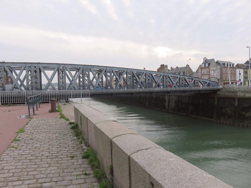 Puente colgante de Dieppe