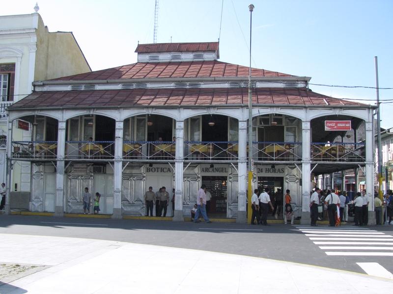 La casa de fierro, à Iquitos (Perù)