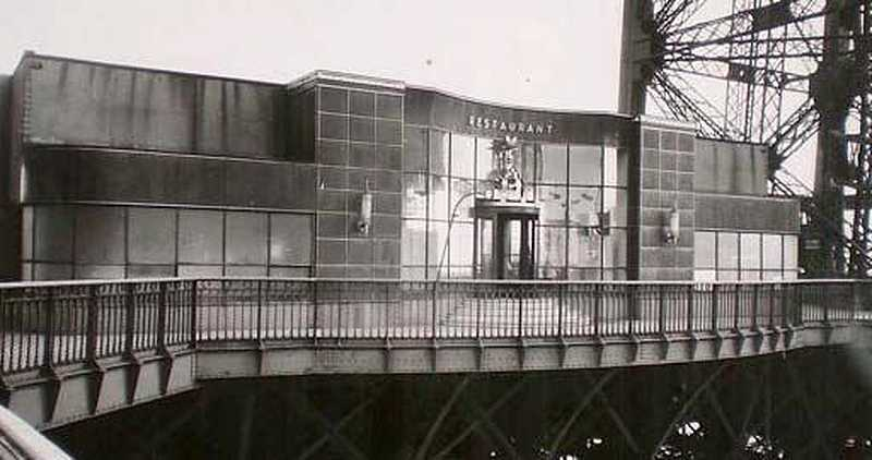 Galería del primer piso en 1937