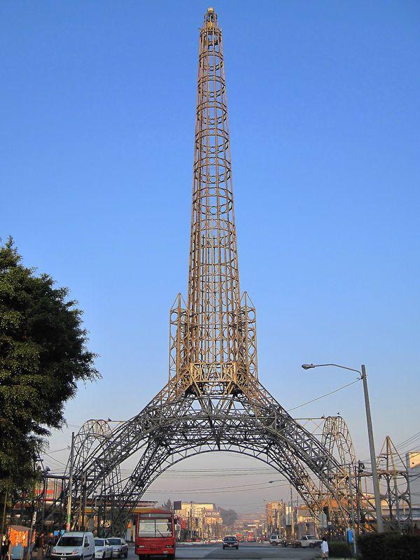 Replica de la torre del Reformador