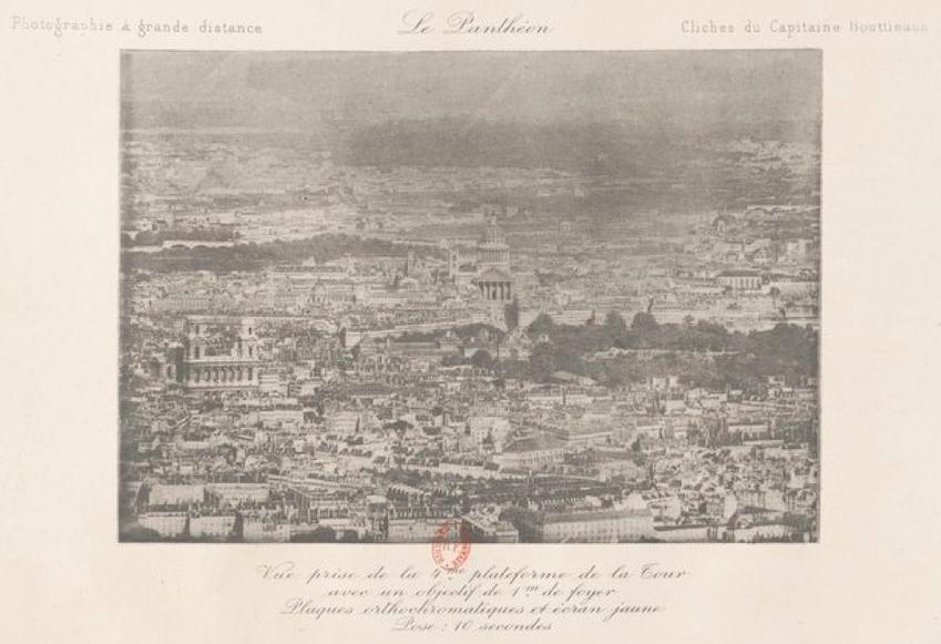 Vista de la Torre Eiffel: El Panteón