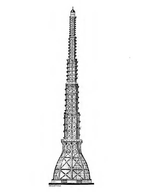 La torre de W. Rendel, C. Findlay, y Halsey Ricardo