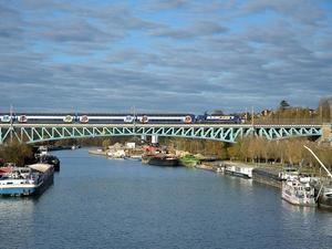 Viaducto de Conflans-Sainte Honorine, Yvelines, Francia