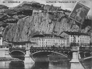 Puente de la Porte de France en Grenoble