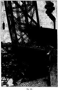 Monte elevador de la torre Eiffel