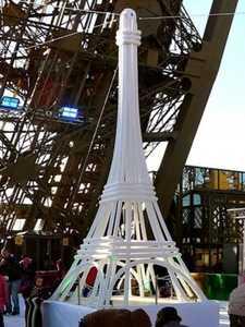 Replica de la torre Eiffel