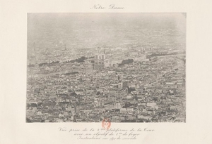 Vista de la Torre Eiffel: Catedral de Notre Dame
