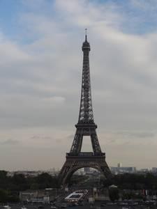 La torre Eiffel vista desde trocadero
