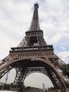 La Torre Eiffel vista de cerca