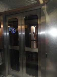 El ascensor para el 3er piso