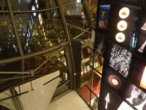 Vista desde la parte superior de la sala Ferrié