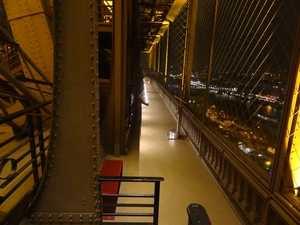 Una de las galerías del 1er piso.