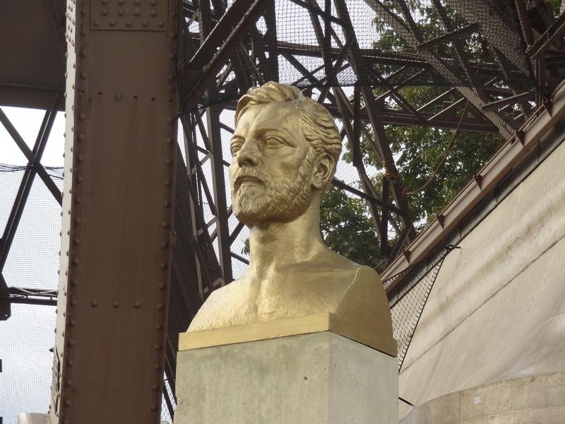 El busto de Gustave Eiffel