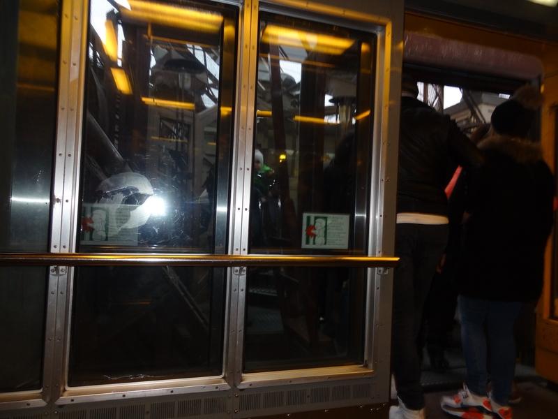 La subida en el ascensor