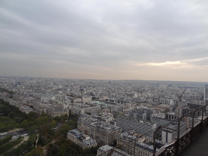 París vista desde el 2do piso de la torre Eiffel