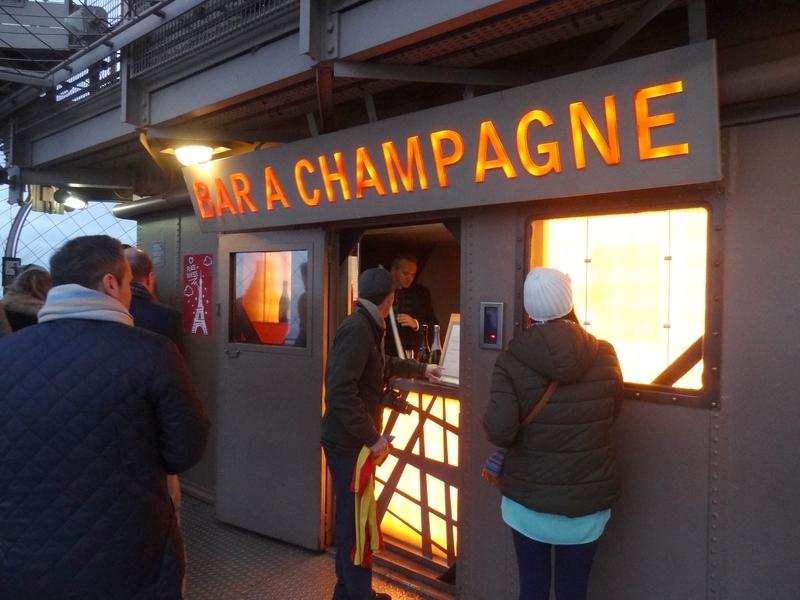 El bar de champagne