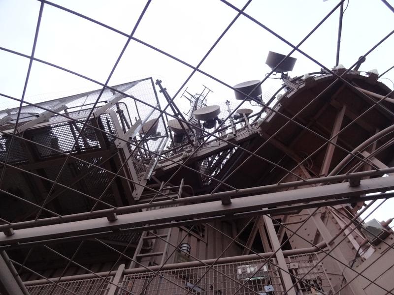 Instalación técnica de la parte superior