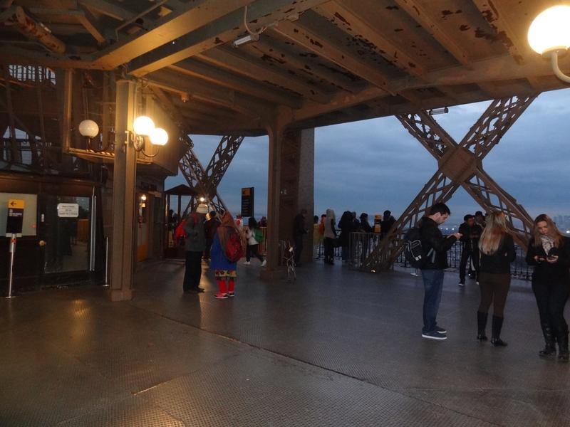 La plataforma del segundo piso