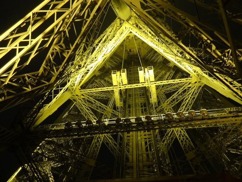 La estructura interna de un pilar