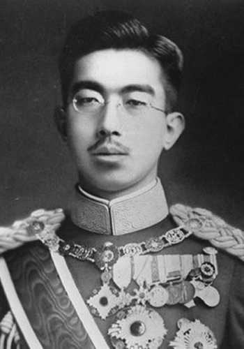 El futuro emperador de Japón Hirohito