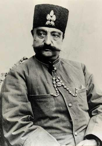Shah de Iran Nasser-al-Din Shah Qajar